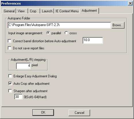 Autopano-SIFT installation