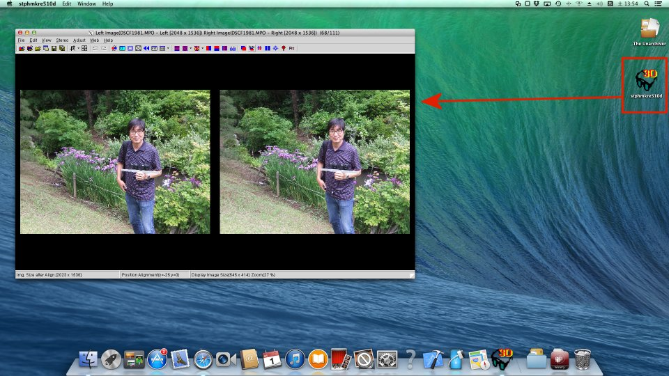 StereoPhoto Maker on Mac